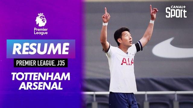 Les buts du derby Tottenham - Arsenal