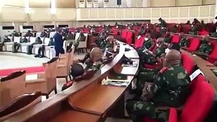 Démission du ministre de la Justuce Tunda, réaction de Lamuka