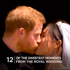 12 of the sweetest moments from the royal wedding