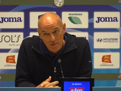 """Le Havre - Le Guen : """"9-0, ce n'est pas grave"""""""