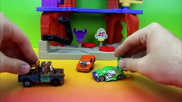 Mater becomes a Karate Master imaginext disney cars wingo snot rod playskool