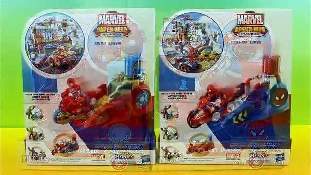 PlaySkool Heroes Marvel Iron man & Spider-Man Launcher