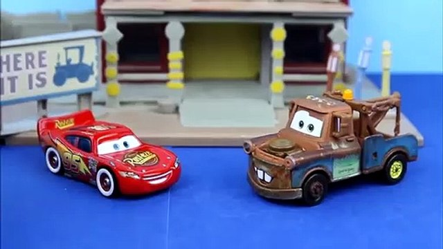 Rescue Squad Mater, Firefighter Dusty Crophopper save Caillou from a burning treehouse!
