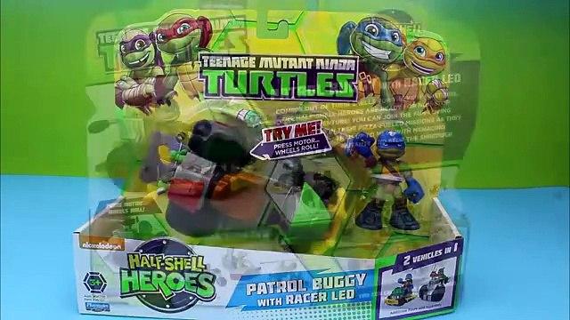 Teenage Mutant Ninja Turtles Half Shell Heroes Mikey, Donnie, Raph, Leo Nickelodeon Half-Shell