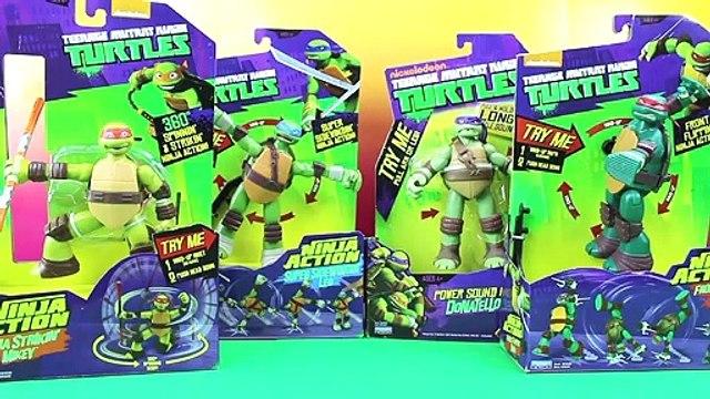 Teenage Mutant Ninja Turtles Ninja Action Turtles & Power Sound FX Donetello