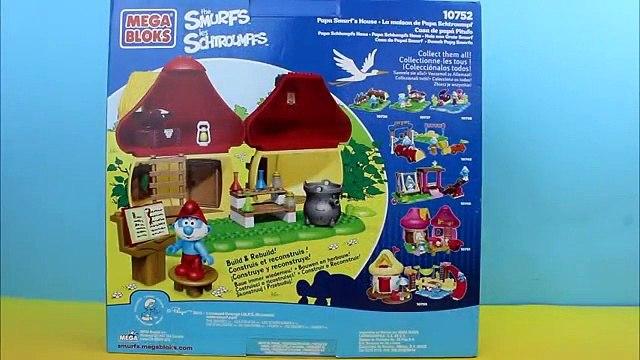 The Smurfs Mega Bloks Papa Smurf's House