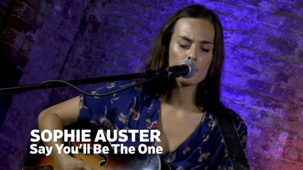 """Dailymotion Elevate: Sophie Auster - """"Say You'll Be The One"""" live at Cafe Bohemia, NYC"""