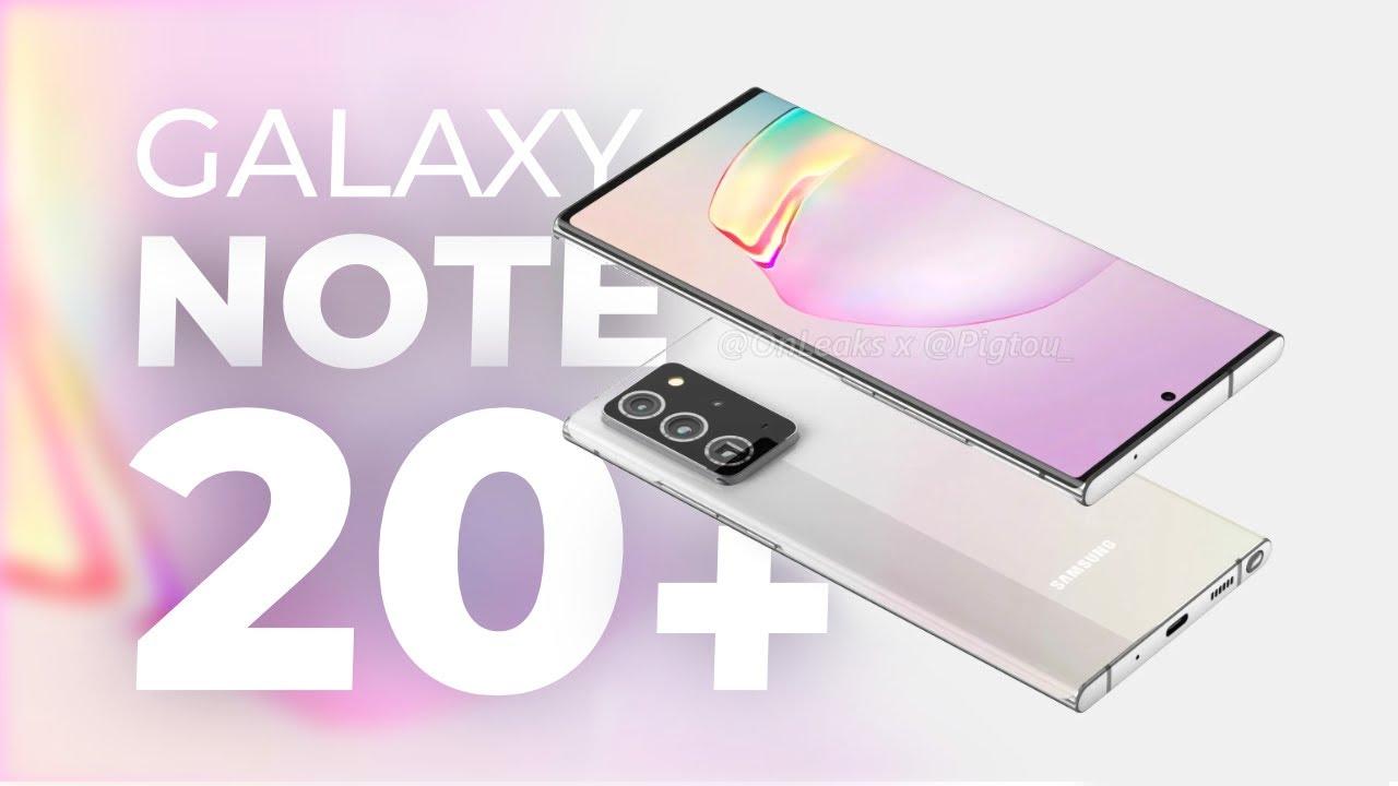 Samsung Galaxy Note 20+ : le futur ULTRA haut de gamme de la marque !