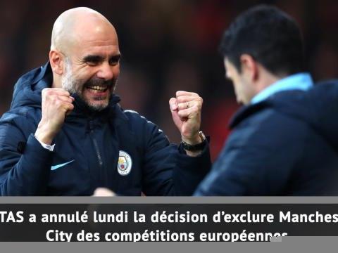 Ldc - Le TAS blanchit Manchester City