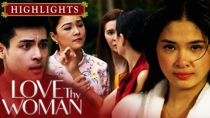 Dana, lalong nag-init matapos niyang harapin sina Jia at David | Love Thy Woman