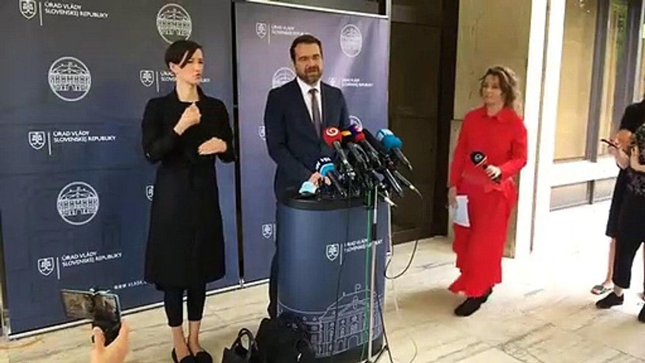 ZÁZNAM: Brífing ministra zdravotníctva Mareka Krajčího