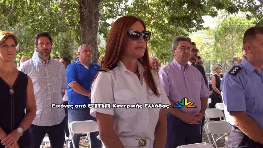 Ο Βασίλης Κικίλιας στα εγκαίνια του Κέντρου Υγείας Καμένων Βούρλων