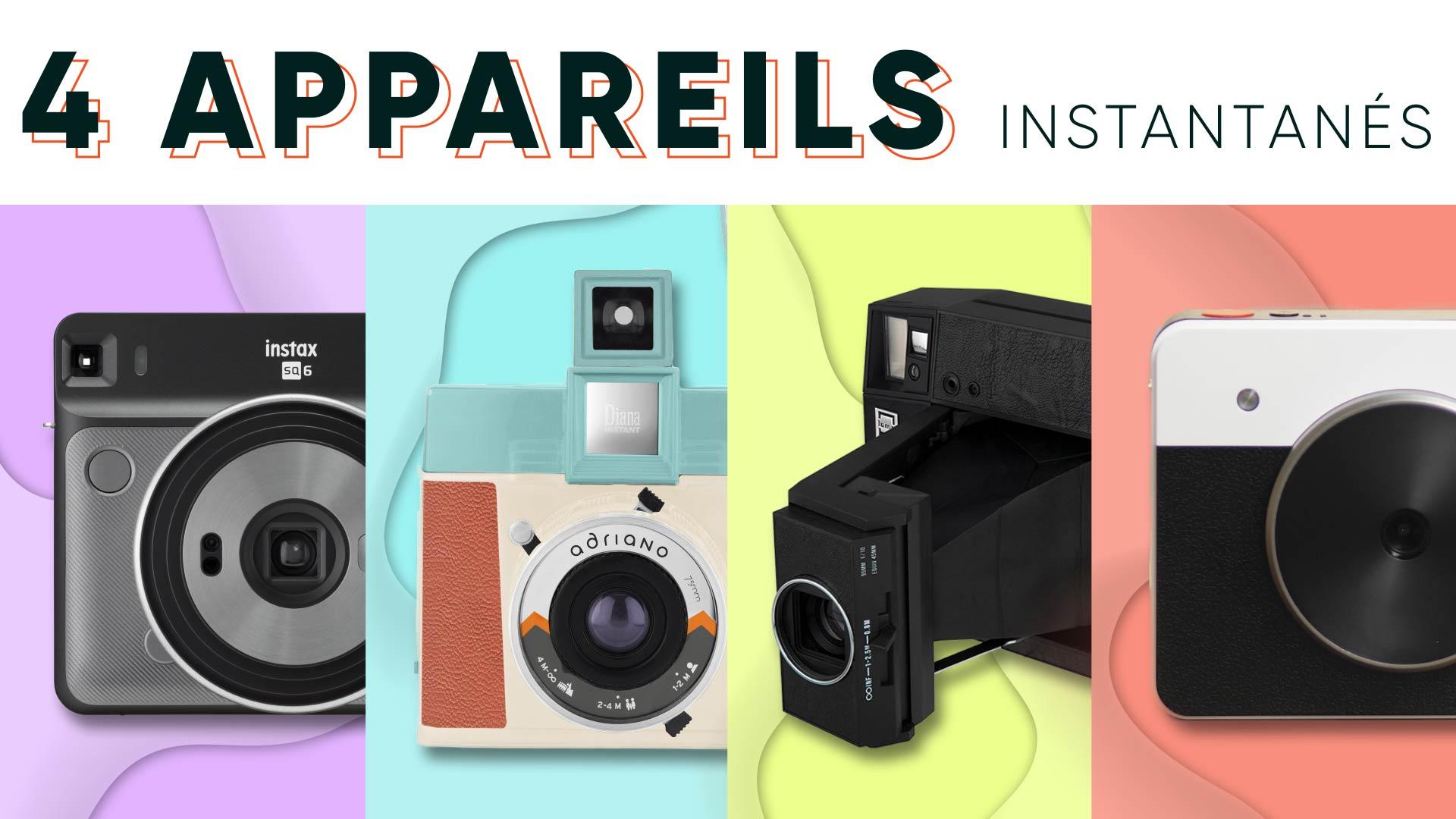 4 appareils photo instantanés alternatifs au Polaroid