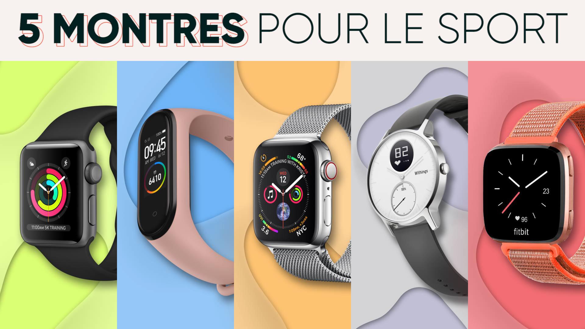 5 montres connectées pour tous les budgets