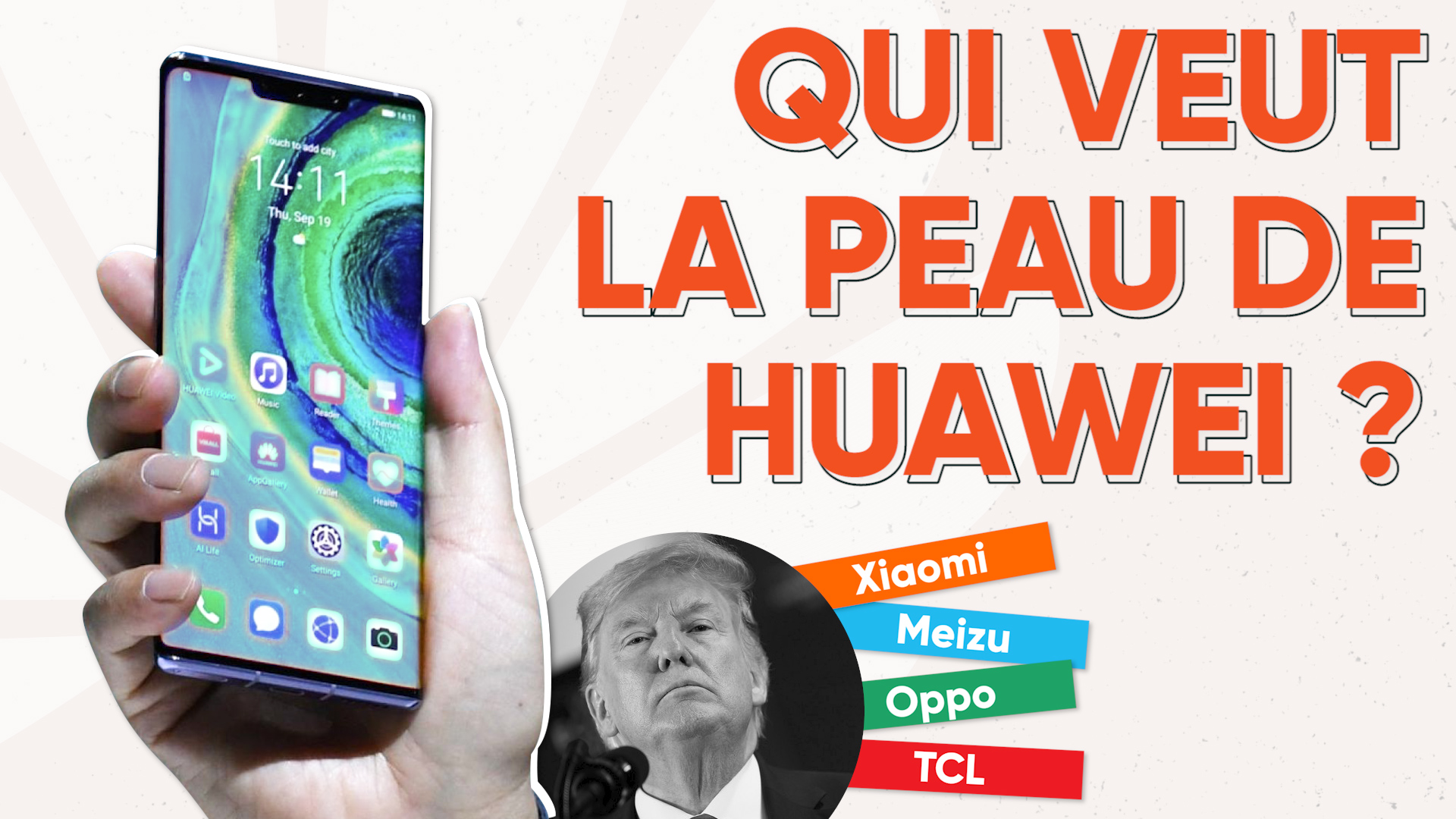 Qui seront les concurrents de Huawei en 2020 ?