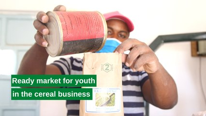 Kenya: Ready market for youth in the cereal business