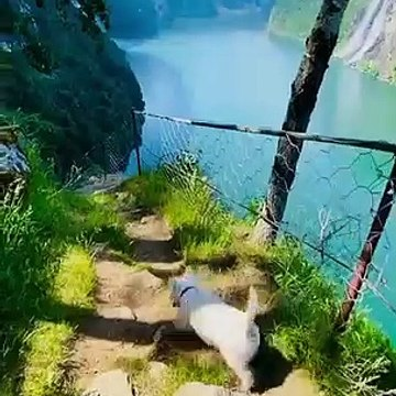 hiking in the hills of norway
