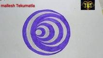 Circle inside circles