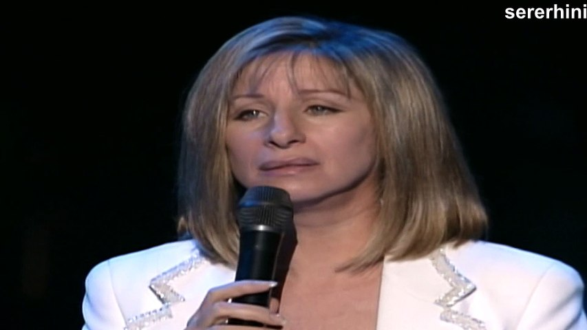 "Barbra Streisand (live) — ""Happy Days Are Here Again"" 
