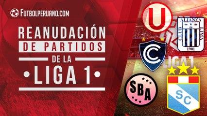 Liga 1: así se disputarán los partidos del fútbol peruano el 7 de agosto
