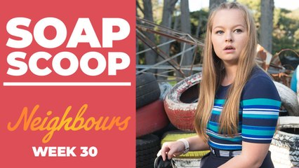 Neighbours Soap Scoop! Harlow is caught with drugs