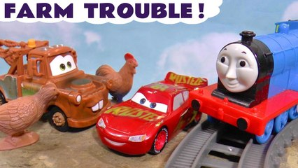 Disney Pixar Cars 3 Lightning McQueen Farm Trouble with Hide and Seek and the Funny Funlings plus Marvel Avengers Hulk in this Full Episode English Toy Story