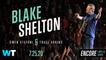 Blake Shelton, Gwen Stefani, & Trace Adkins At The Drive-In