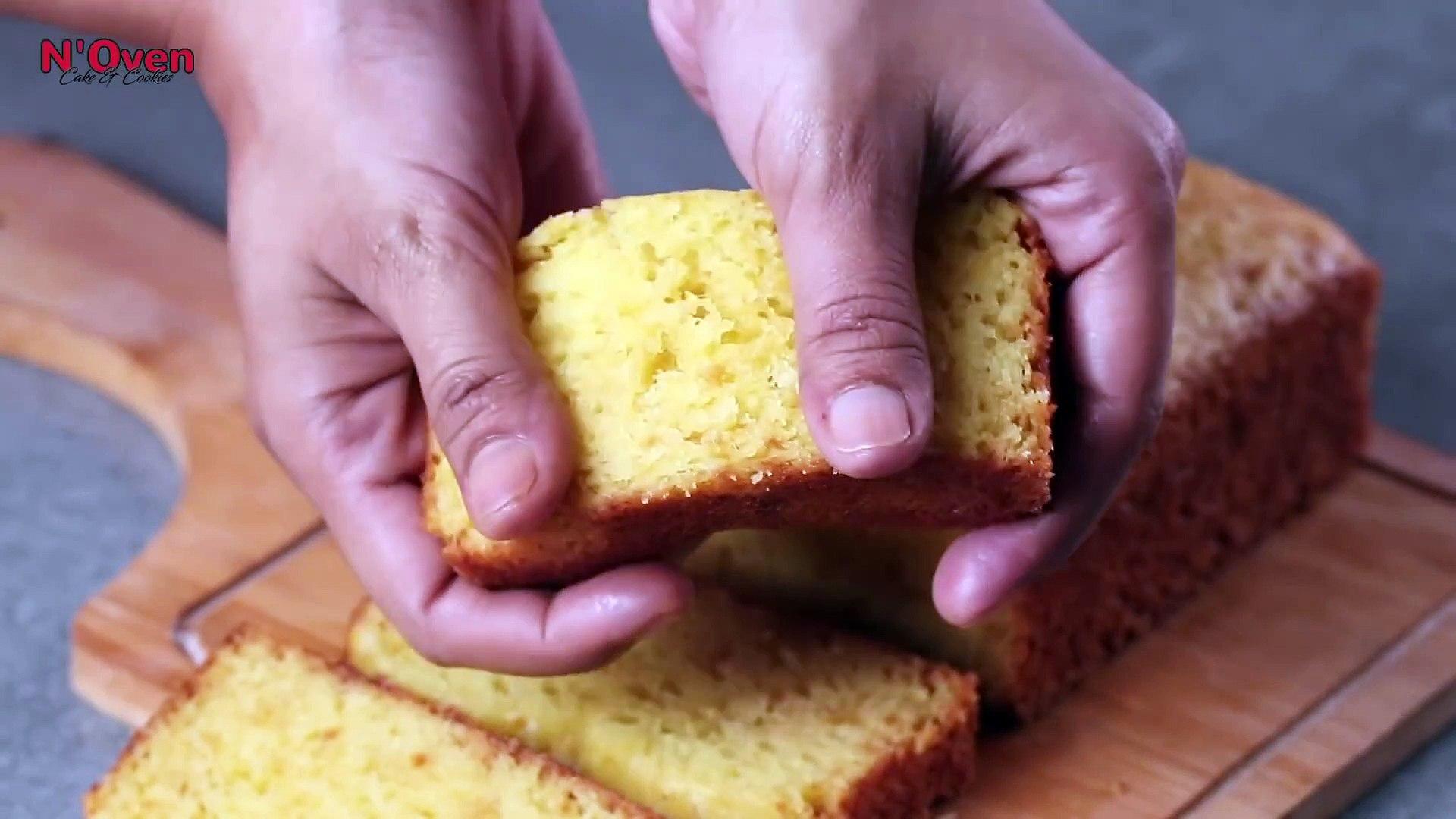 Lemon Cake Recipe - Lemon Pound Cake - Eggless & Without Oven - Lemon Tea Cake - Lemon Loaf Cake