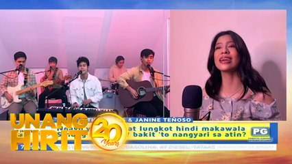 Unang Hirit: Senti kantahan with The Juans and Janine Teñoso