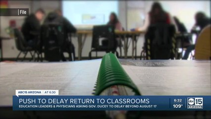 Education leaders push to delay return to classrooms