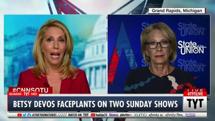 Betsy DeVos TANKS During Interview Session