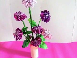 Origami Dahlias