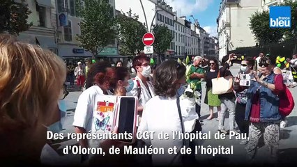 Le geste symbolique des soignants du Béarn