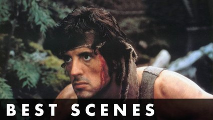 TOP SCENES FROM RAMBO- FIRST BLOOD - Starring Sylvester Stallone