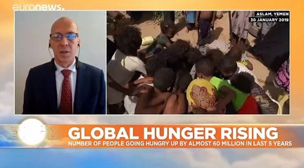 World hunger rising and COVID-19 threatens to make it worse, says UN