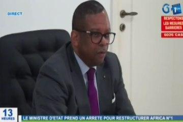 RTG/Réunionde mise en place de la commission technique interministérielle pour restructurerAfricaN1