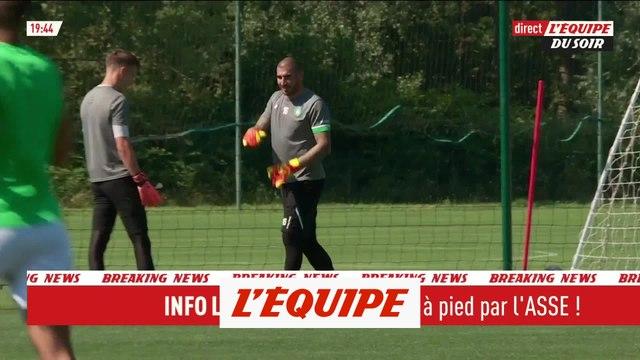 Stéphane Ruffier mis à pied par Saint-Etienne - Foot - L'Equipe du Soir