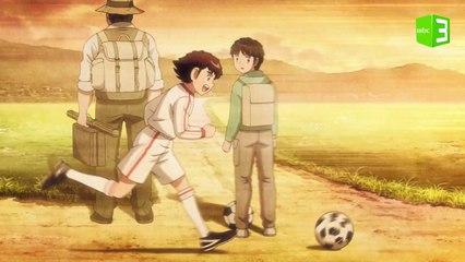 لحظة تظهر مدى عشق تارو لكرة القدم ❤⚽