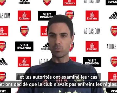 """Arsenal - Arteta : """"Manchester City mérite pleinement d'être en Ligue des Champions"""""""
