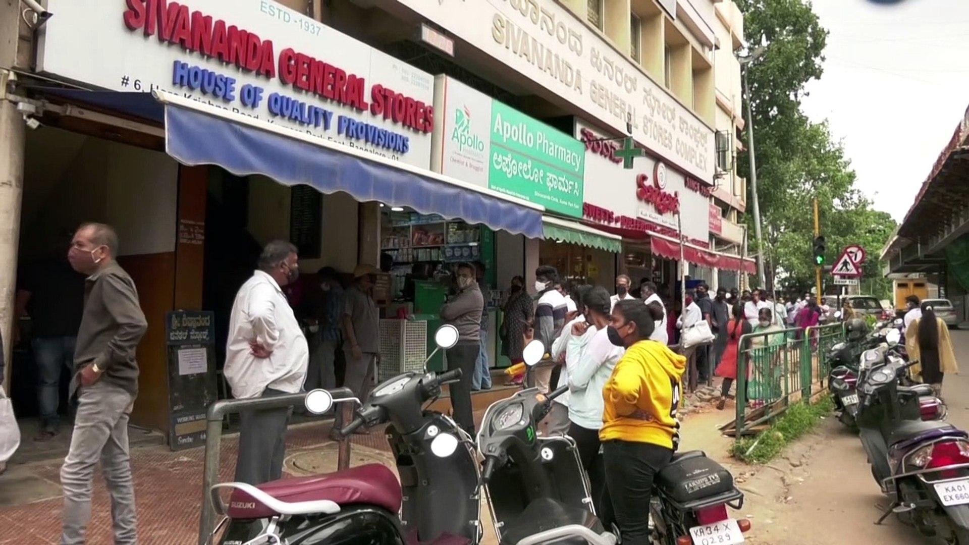 سكان بنغالور الهندية يستعدون لإغلاق جديد