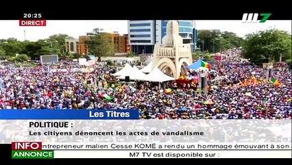 JT FRANÇAIS 20H15 DU 14 JUILLET 2020