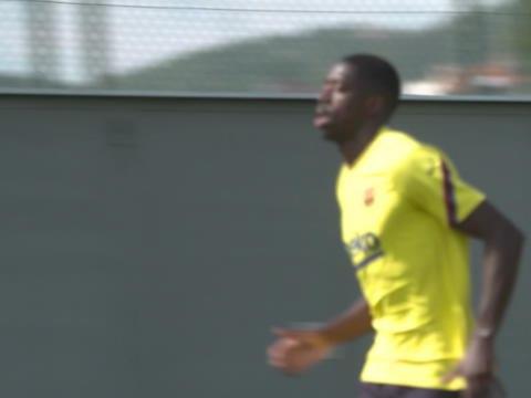 Barcelone - Dembélé fait son retour à l'entraînement