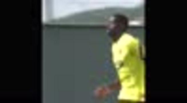 Barcelone - Les images du retour de Dembélé à l'entraînement