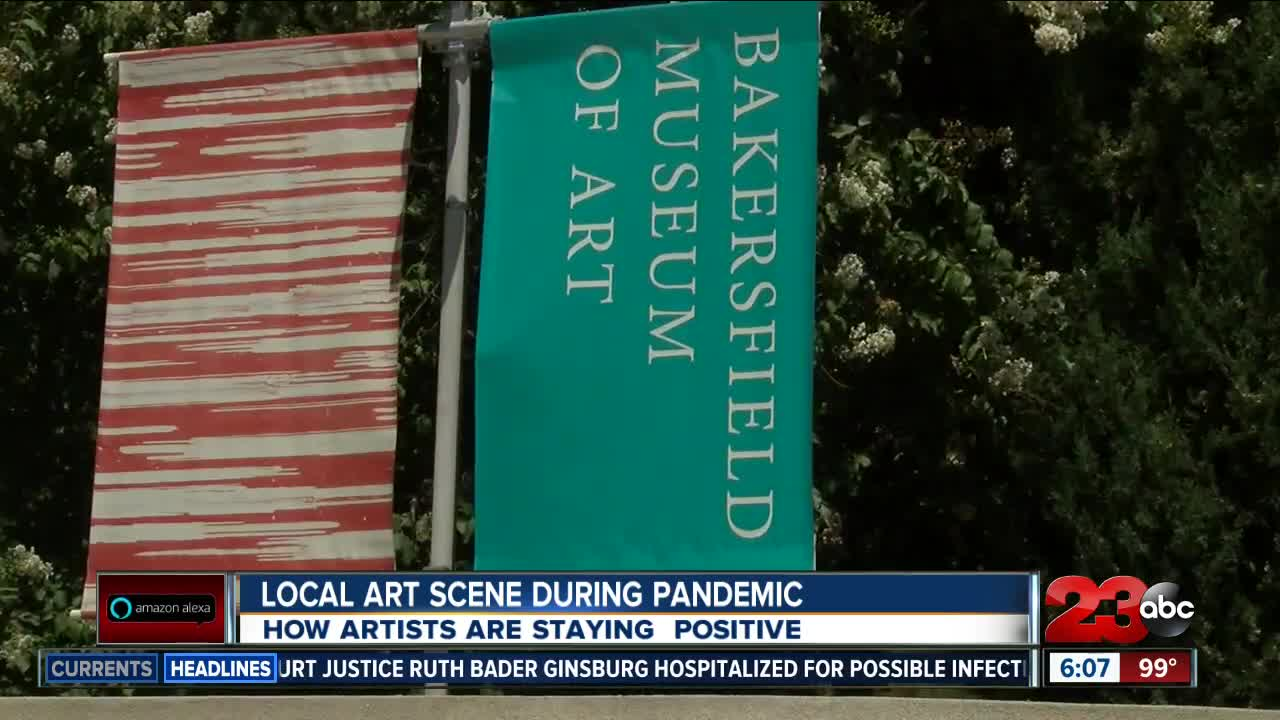 Local Art Scene Affected by Pandemic
