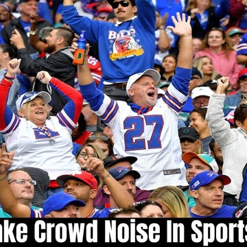 Fake Crowd Noise In Sports