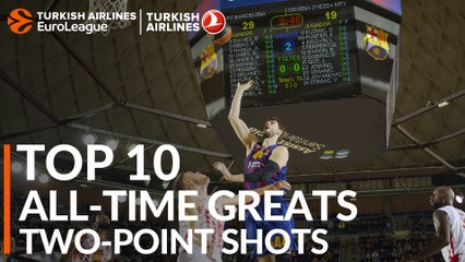 Top 10 All-time Greats: Two-Point Shots