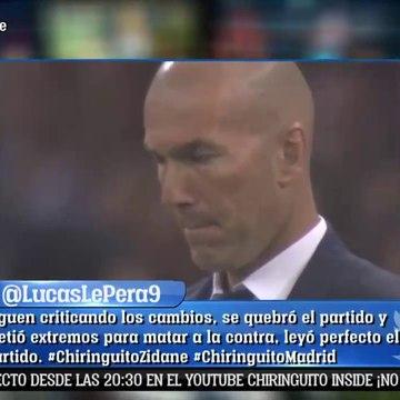 ¿Por qué Zidane no juega con delanteros?: EXCLUSIVO El Chiringuito