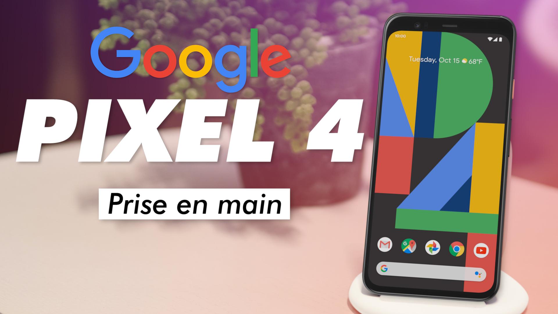Google Pixel 4 : nous a-t-il SURPRIS pendant la PRISE EN MAIN ?
