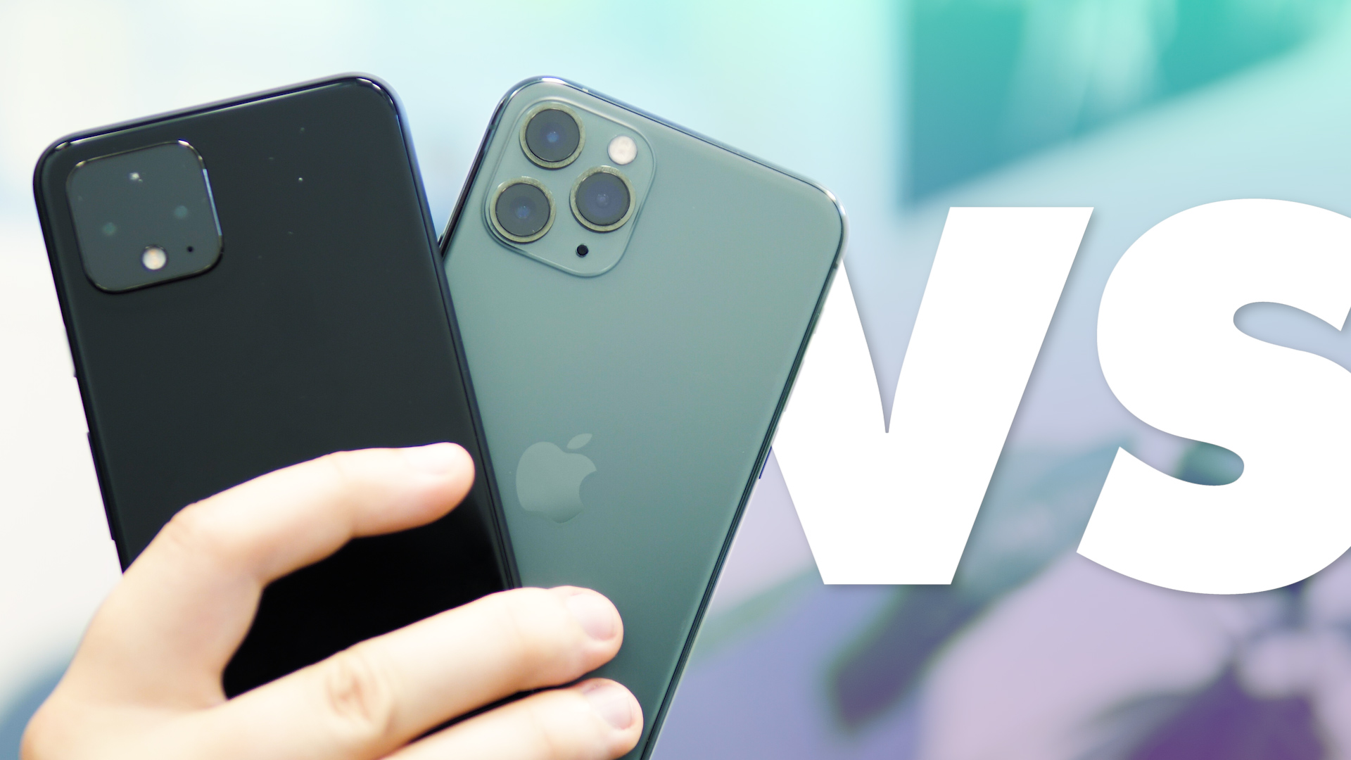 Pixel 4 vs iPhone 11 Pro : QUI EST LE PLUS FORT ? (COMPARATIF)
