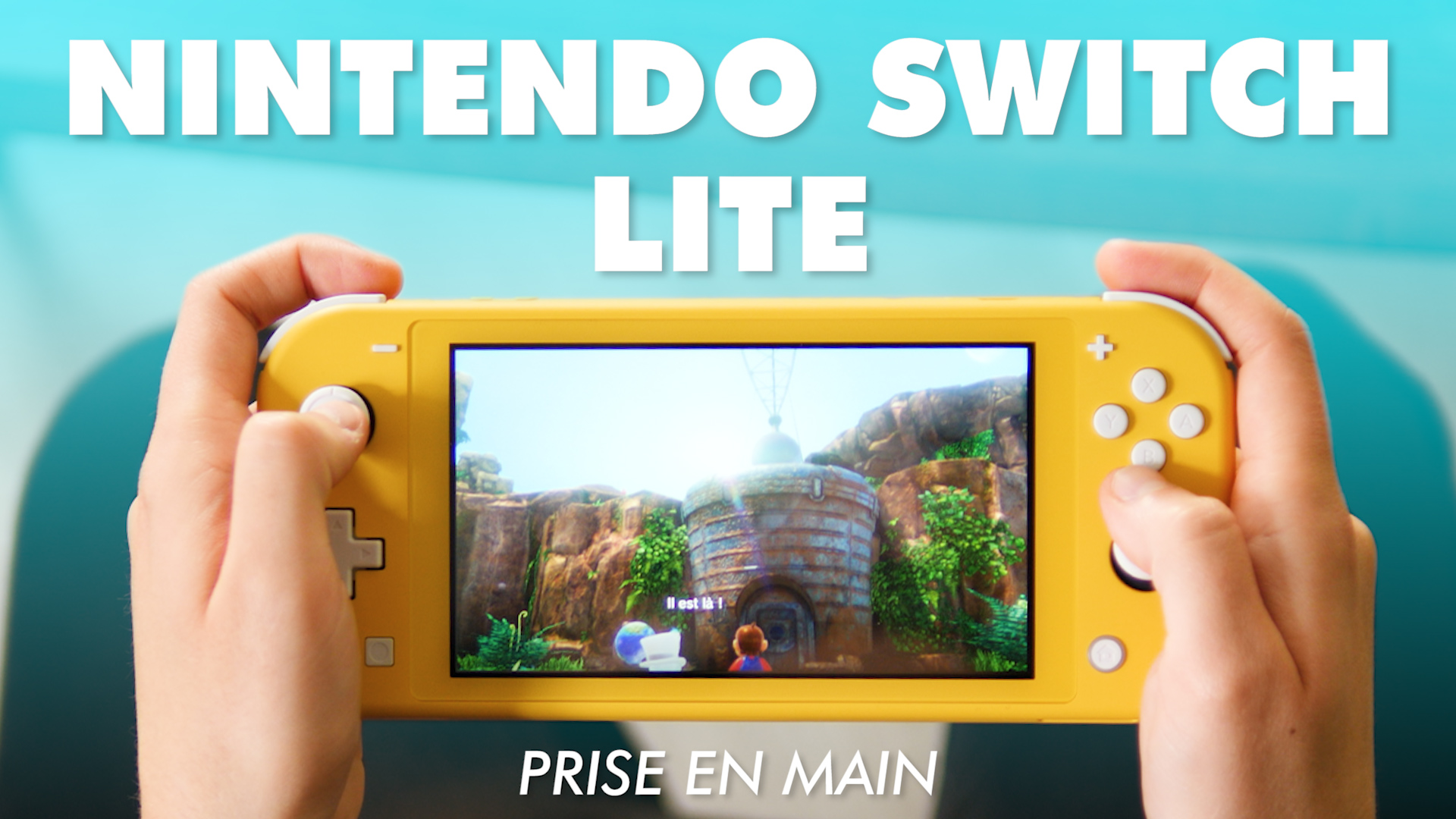 Nintendo Switch Lite : on l'a prise en main !
